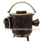Garrafa Térmica Couro 8L - Personalizada Com Fitilho