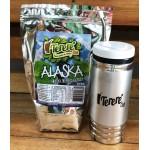 Kit Tereré Copo Cuia Térmica + Erva Mate Tereré Club Alaska 475G
